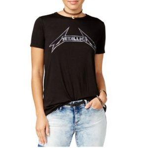 Metallica Logo Graphic T-Shirt black XS